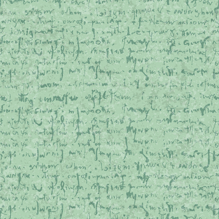 Old letter seamless pattern with textures and hand draw abstract lettering