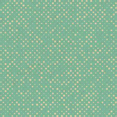 Retro vintage seamless textured pattern with simple geometric forms