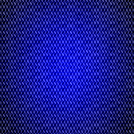 abstract data flow technology pattern. blue squares background
