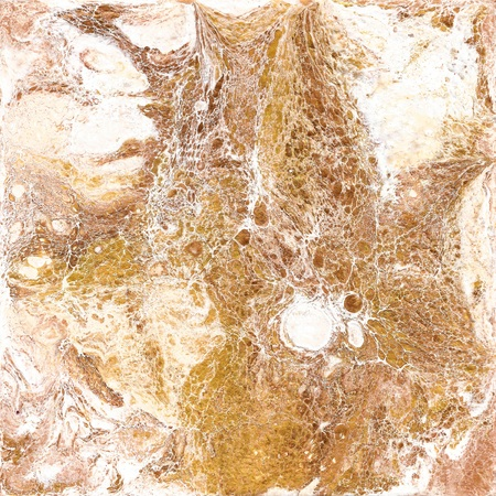 White and golden marble texture. Hand draw painting with marbled texture and gold and bronze colors. Gold marble background. Abstract marble pattern. Liquid painting, liquid technique