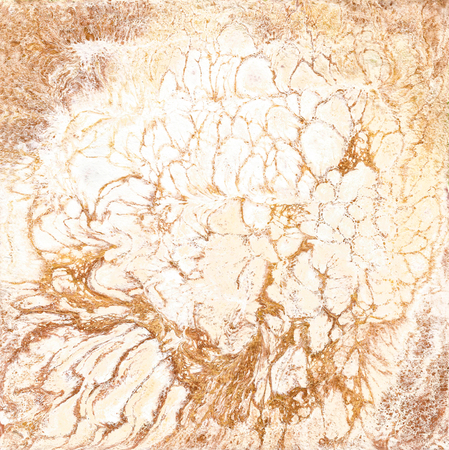bronzed: White and golden marble texture. Hand draw painting with marbled texture and gold and bronze colors. Gold marble background. Abstract marble pattern. Liquid painting, liquid technique