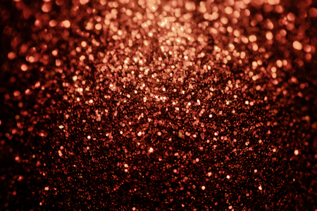 Black red glitter sparkle background. Black friday shiny pattern with sequins. Christmas glamour luxury pattern, black christmas and glitter diamond background. Dark silver black friday pattern Stock Photo