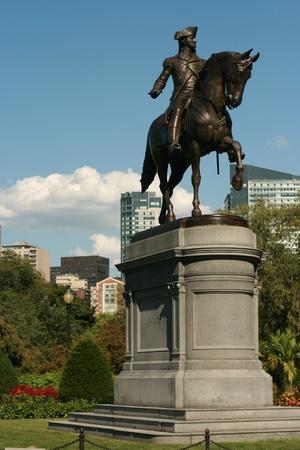boston common: General Washington at Boston Public Garden on Boston Common, Massachusetts.