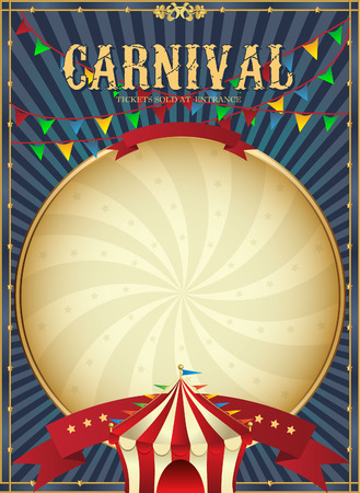 Golden Mardi Gras design element. Carnaval achtergrond. Twee carnaval kronen. Stock Illustratie