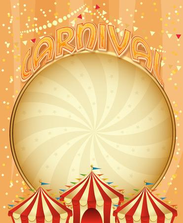 carnaval: Carnaval affiche Mardi Gras Carnaval de Venise banni�re. mod�le de vacances.