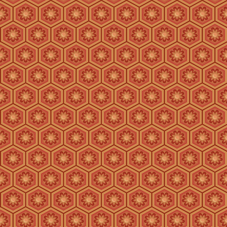 spanish tile: Arabic seamless ornament. Abstract background.