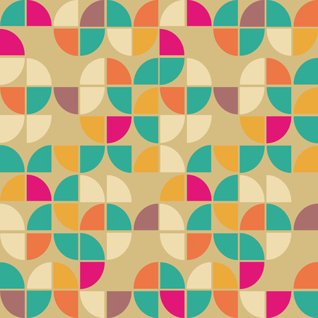 green wallpaper: Seamless pattern in retro style. Disco vintage background.