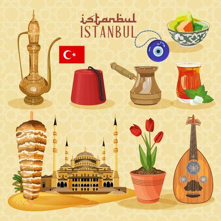 turkey istanbul: Istanbul arabic Set