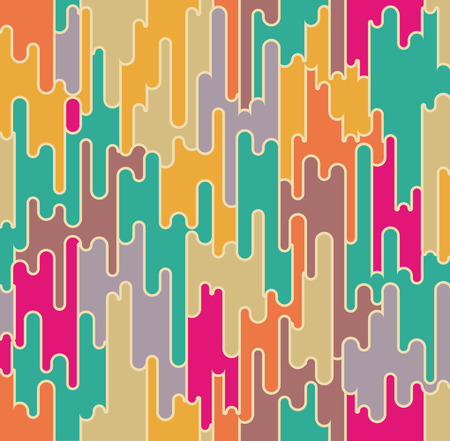 retro disco: Abstract seamless pattern. Geometrical and ornamental motifs. Retro disco style
