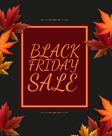 fondo para tarjetas: Negro Cartel de la venta el viernes en el dise�o retro Vectores