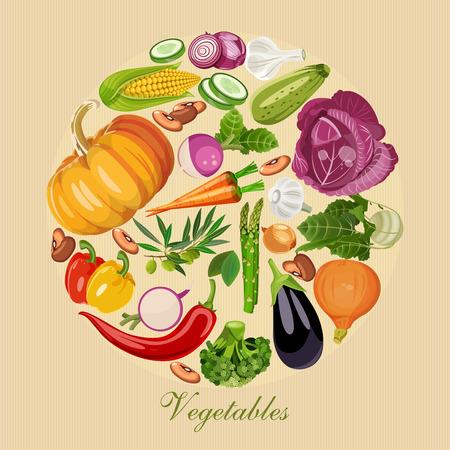 légumes verts: Ensemble de légumes frais. épicerie verte