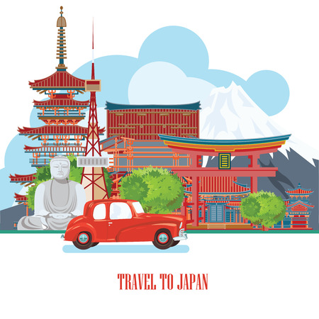 torii: Gorgeous Japan travel poster