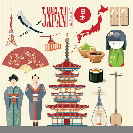 maneki: Gorgeous Japan travel poster