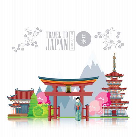 Gorgeous Japan travel poster