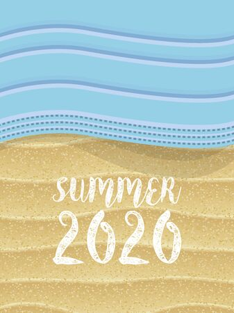 Summer 2020. Pandemic of Covid-19 and summer holidays on the beaches 版權商用圖片 - 147667156