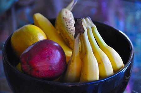 Fruits in a bowl Reklamní fotografie
