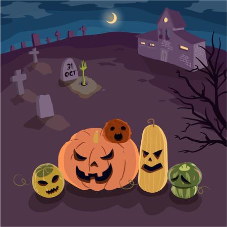 Pumpkins of Halloween