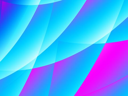 Abstract background with blue and pink layers.  Stage curtain like cures.  Light and transparent photo