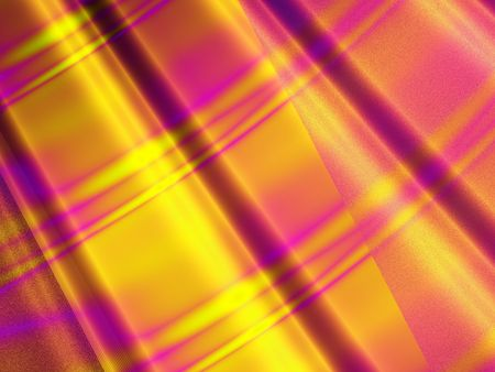 fuschia: Abstract background displaying layers and colors of fuschia, gold and yellow.