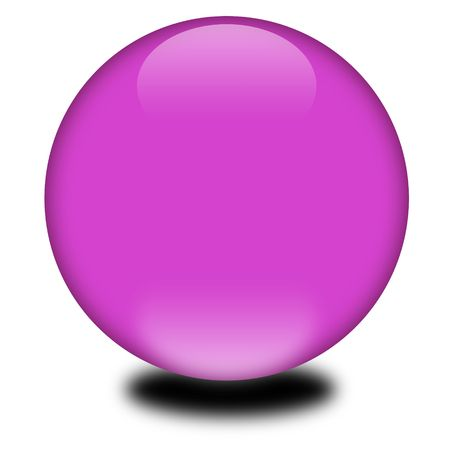 3d purple colored sphere.  Eye catching glossy orb for your e-business or website.