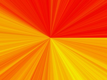 mesmerized: Abstract yellow and red light.  Feeling of being pulled forward