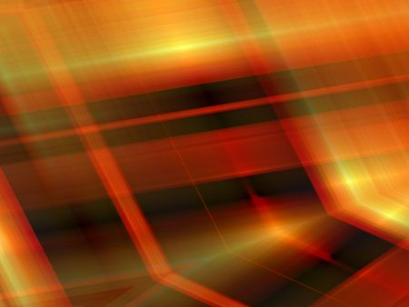 Abstract Autumn Background.  Orange red yellow and brown with light effect