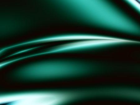 조명 효과 가진 녹색 새틴 추상 디자인입니다. 스톡 콘텐츠