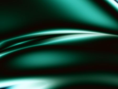 copyspace: Green Satin abstract design with light effect.
