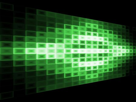 Abstract green background with light effect.  3d billboard effect. Stock Photo - 1914581