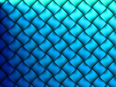 サテンのような抽象的なブルーの格子背景を終了します。