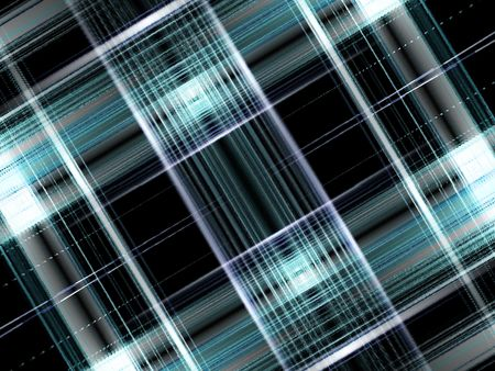 Abstract Blue black plaid background with light effect
