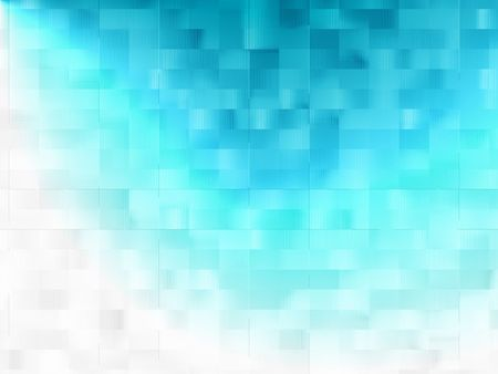 Abstract blue background with light effect.  White copy space. Stock Photo