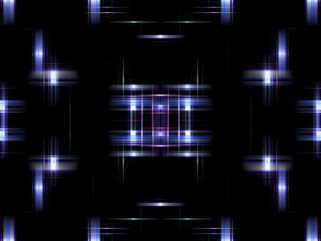 Blue digital abstract background.  Modern design with shades of blue and light effect