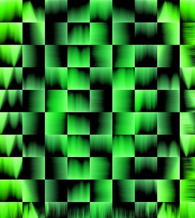 Abstract Green Background with tile and texture effect.