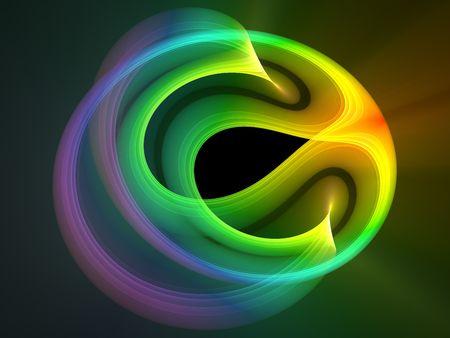 조명 효과 가진 여러 가지 빛깔의 추상적 인 디자인