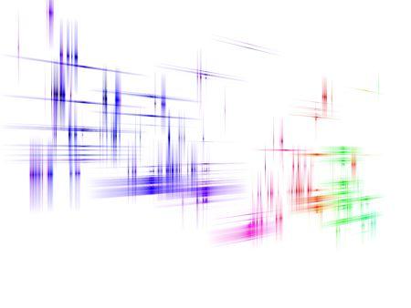 흰색 배경 가진 여러 가지 빛깔 된의 추상적 인 디자인입니다.