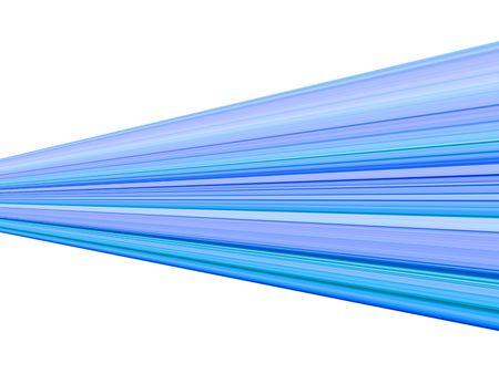 Blue streak design with white background