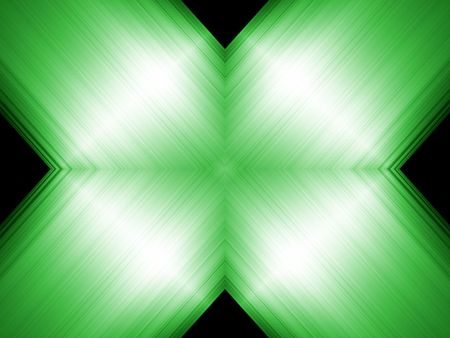Green abstract background with light effect Stock Photo