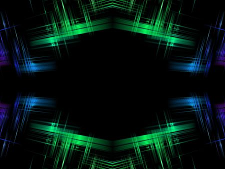 copy center: Abstract Green blue with black copy in center