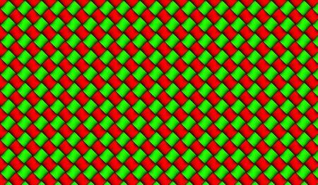 赤と緑の背景デザイン