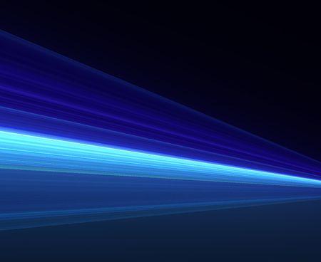 Blue Streak background with light effect Stock Photo