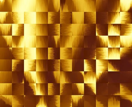 Gold Tile Background with light effect