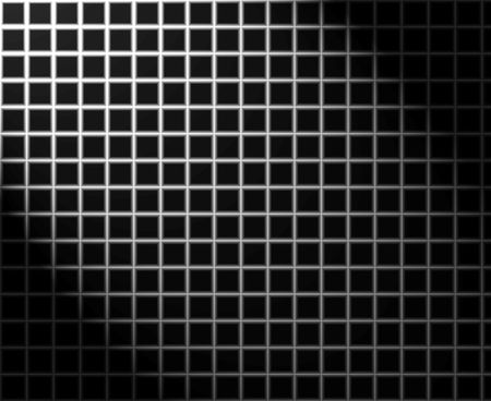 Silver grid with light effect