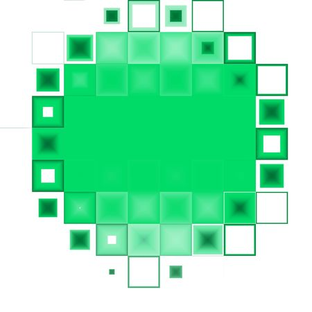 Abstract green and white background Stock Photo
