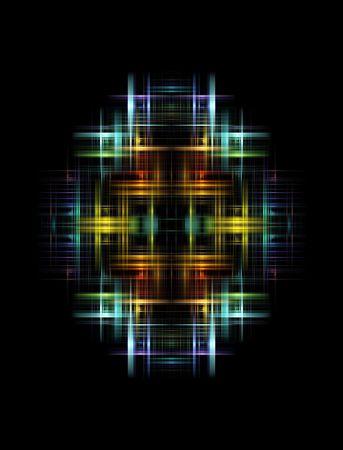 여러 가지 빛깔의 추상적 인 빛 스톡 콘텐츠