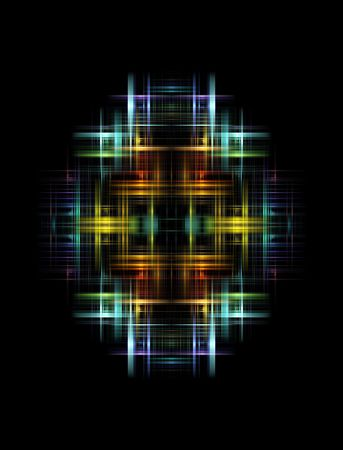 Multicolored abstract light Stock Photo