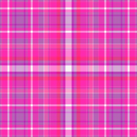 Pink and purple plaid background