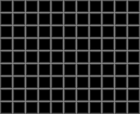 Black background with silve mesh