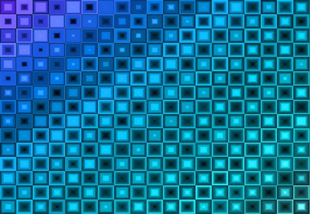 Abstract Blue Green Purple Background