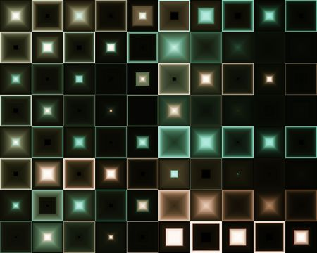 Abstract background with black background